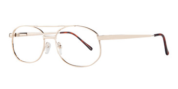 Gold Affordable Design Robert (54) Eyeglasses