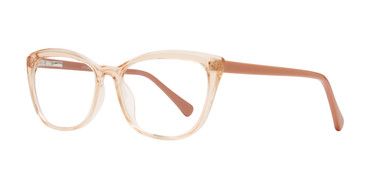 Peach Affordable Design Shelli Eyeglasses.