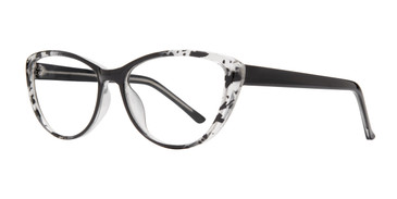 Black Affordable Design Zilla Eyeglasses.