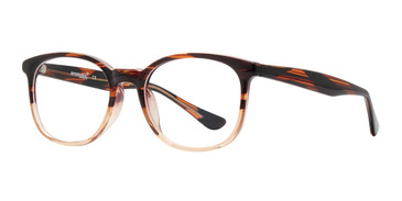Beige Affordable Design Breet Eyeglasses.