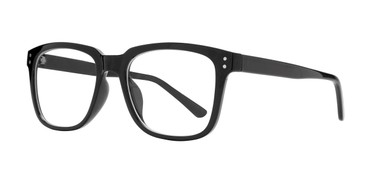 Black Affordable Design Kent Eyeglasses.