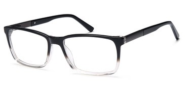 Black Clear Capri GR 815 Eyeglasses.