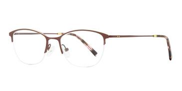 Burgundy Lulu Lite Design Eyeglasses.