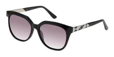 Black  Ann Taylor ATP913 Petite Luxury Sunglasses