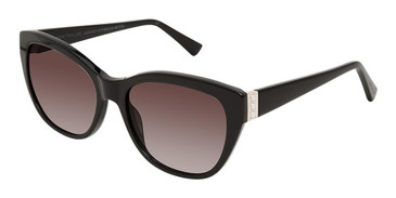 Black Ann Taylor ATP914 Petite Luxury Sunglasses