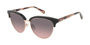 Black/Rose Gold Sperry CROSSHAVEN Sunglasses.