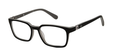 Matte Black Sperry LOGGERHEAD Boys Tween Eyeglasses.
