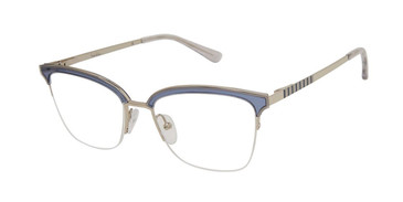 Trans Denim Nicole Miller Cannes Resort Eyeglasses.