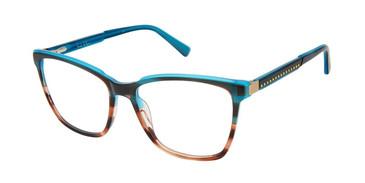 Blue Azure Nicole Miller Eden Roc Resort Eyeglasses.