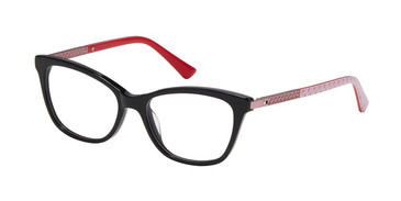 Black/Blush Nicole Miller Lulu Tween Niki Eyeglasses - Teenager.