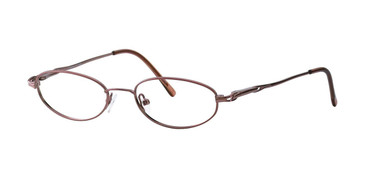 Brown Destiny Andrea Eyeglasses - Teenager.