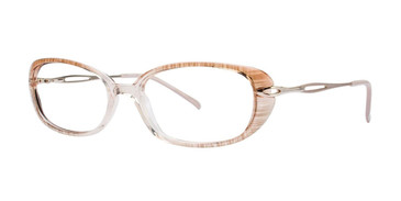 Beige Destiny Gwen Eyeglasses.