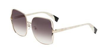 Gold 0492 Furla SFU343 Sunglasses.