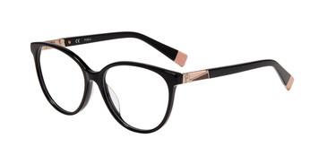 Black Furla VFU189 Eyeglasses.