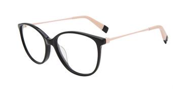 Black 700Y Furla VFU201 Eyeglasses.