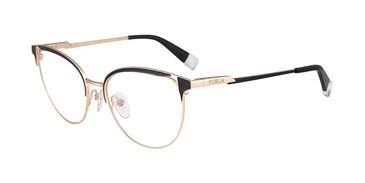 Black 0301 Furla VFU294 Eyeglasses.