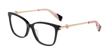 Black 0700 Furla VFU356 Eyeglasses.