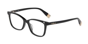 Black 0700 Furla VFU387V Eyeglasses.