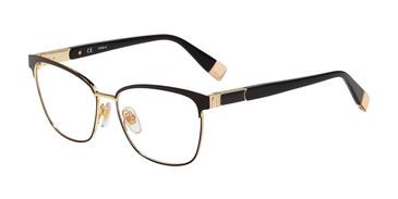 Black 0KAW Furla VFU389 Eyeglasses.