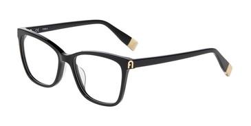 Black 0700 Furla VFU392 Eyeglasses.