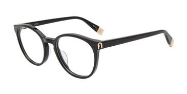 Black 0700 Furla VFU393 Eyeglasses.