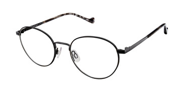 Black/Dark Gunmetal Mini 742010 Eyeglasses