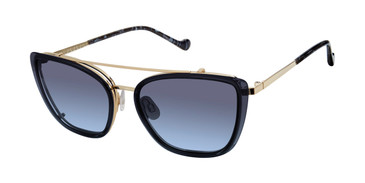 Navy Gradient/Gold Mini 747009 Sunglasses