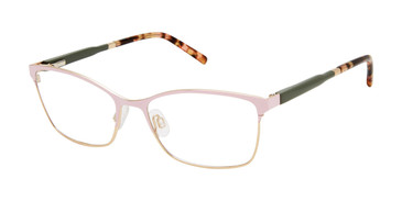 Blush/Rose Gold Mini 761004 Eyeglasses
