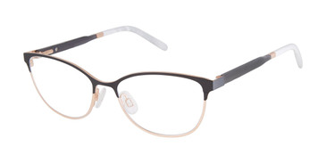 Black/Rose Gold Mini 761005 Eyeglasses