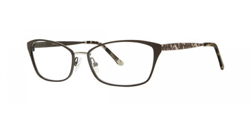 Licorice Dana Buchman Carrington Eyeglasses.