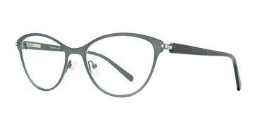 Grey Serafina Shirley Eyeglasses.