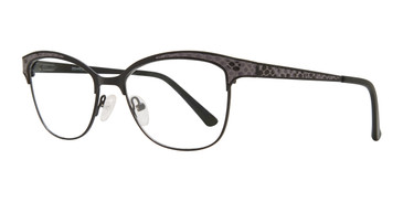 Black Serafina Molly Eyeglasses.