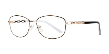 Black Eight To Eighty Phyllis Eyeglasses.