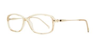 Beige Eight To Eighty Prisco Eyeglasses.