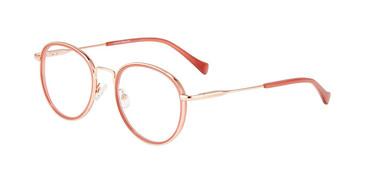 Burgundy Lucky Brand D118 Eyeglasses.