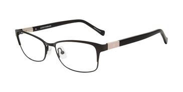 Black Lucky Brand D119 Eyeglasses.