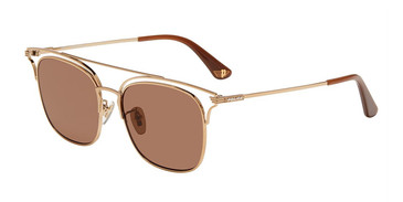 Gold (08FF) Police SPL575 Sunglasses.