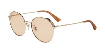 Gold(0594) Police SPL637 Sunglasses.