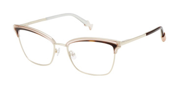 Gold Ted Baker TLW502 Eyeglasses.