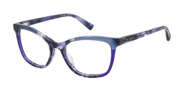 Blue Ted Baker TW001 Eyeglasses.