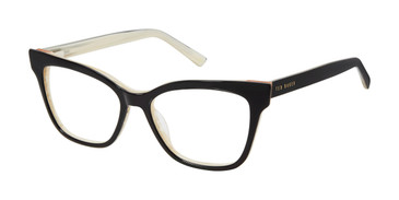 Black/Bone Ted Baker TW002 Eyeglasses.