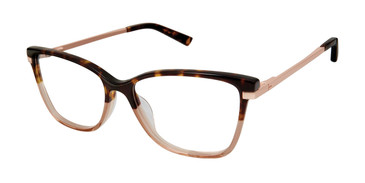 Tortoise/Brown Ted Baker TW003 Eyeglasses.