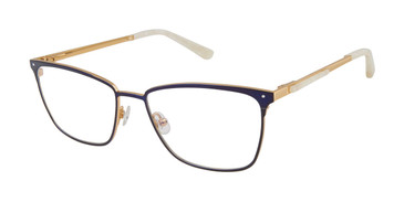 Navy/Gold Ted Baker TW500 Eyeglasses.
