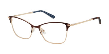 Brown/Gold Ted Baker TW501 Eyeglasses.