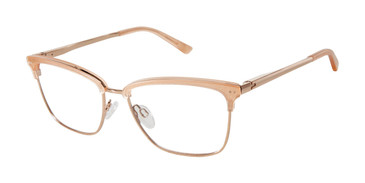 Rose Gold Ted Baker TW502 Eyeglasses.