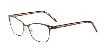 Black Lucky Brand D120 Eyeglasses.