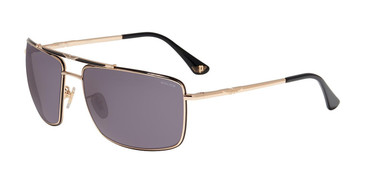 Gold Black(0301) Police SPL965 Sunglasses.