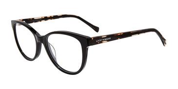 Black Lucky Brand D223 Eyeglasses.