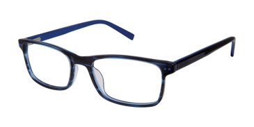 Blue Ted Baker B970 Eyeglasses - Teenager.