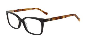 Black Lucky Brand D224 Eyeglasses.